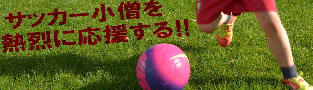 サッカー小僧を熱烈に応援する
